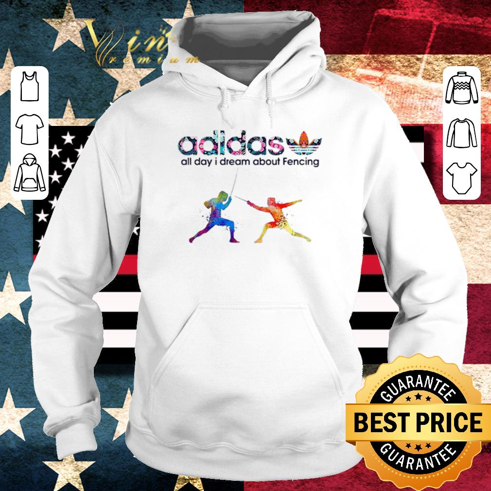 Official Logo Adidas All Day I Dream About Fencing shirt