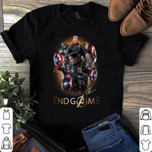 Avengers Endgame Captain America Chris Evans Signature shirt