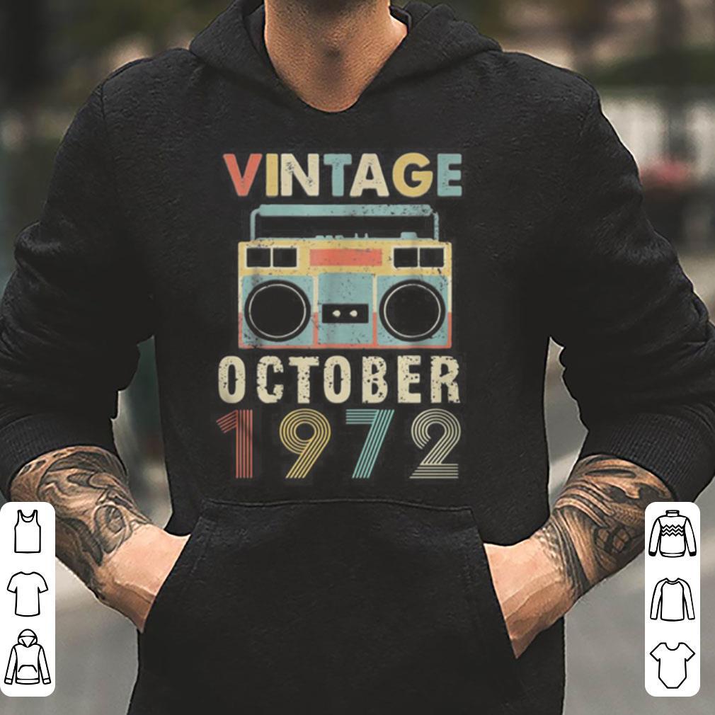 Cassette Vintage October 1972 shirt 4 - Cassette Vintage October 1972 shirt