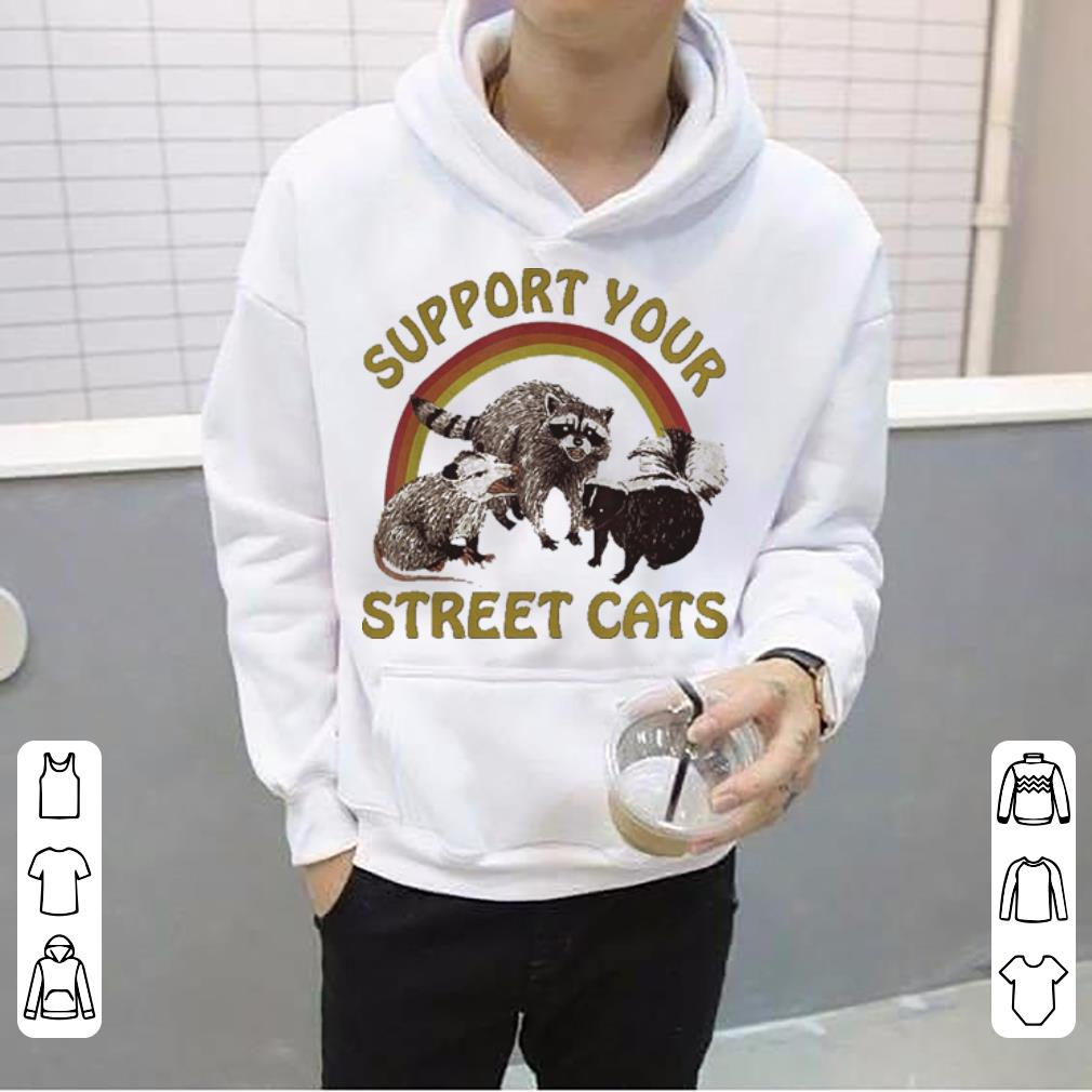 Cat Kitten Support Your Local Street Cats Vintage shirt 4 - Cat Kitten Support Your Local Street Cats Vintage shirt