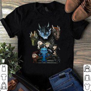 Game Of Thrones Characters Chibi Night King shirt