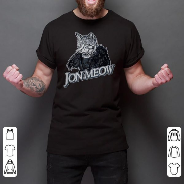 Jon Snow Jon Meow Game Of Thrones shirt