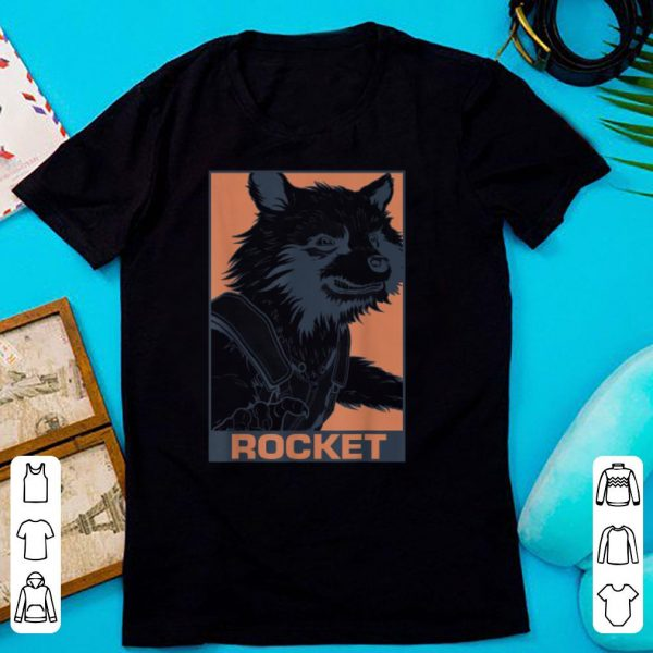 Marvel Rocket Raccoon shirt