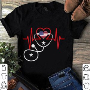 American Heart Beats 4th July shirt