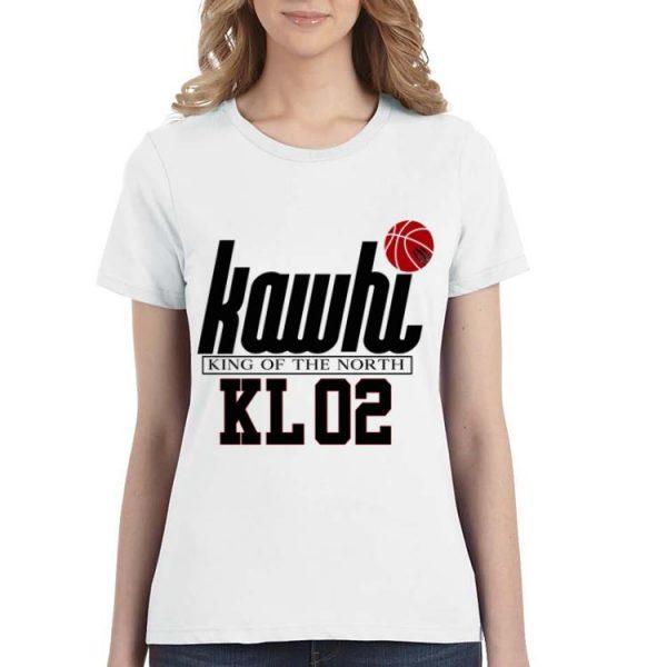 Kawhi King Of The North KL02 Basketball shirt