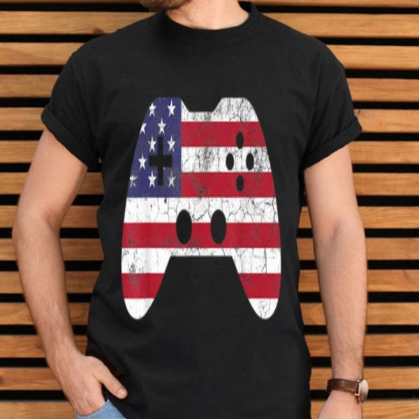 4th Of July Gift Video Game Gamer Usa Shirt