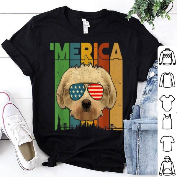 4th Of July Gifts Patriotic Maltese 'merica shirt