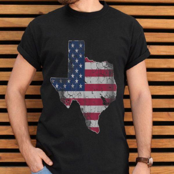 American Flag Texas 4th Of July shirt