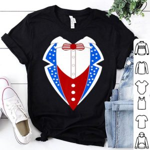 American Tuxedo Usa Flag 4th Of July Men Boys shirt