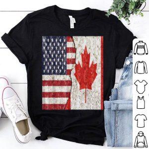 Canadian American Canadian American Flag shirt