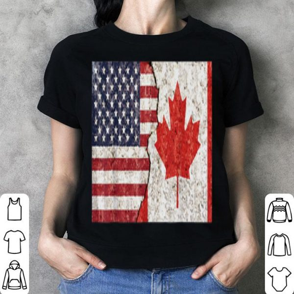 Canadian American Canadian American Flag shirt
