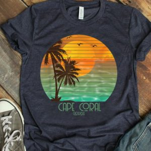 Cape Coral Florida Sunset Beach Summer Vacation Shirt