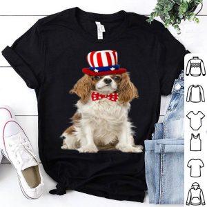 Cavalier King Charles July 4th American Flag Premium Shirt