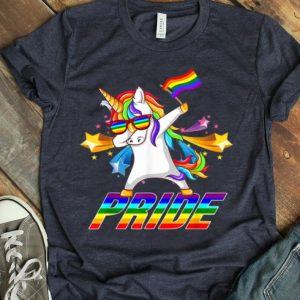 Dabbing Unicorn LGBT Gay Pride Shirt