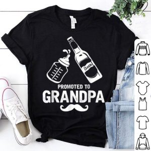 First Time Dad Promoted To Grandpa shirt