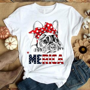 French Bulldog American Flag Frenchie 4th Of July Gift Shirt