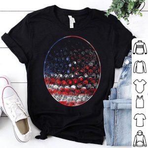 Golf American Flag Usa Pride Sports Shirt