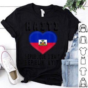Haitian Flag National Pride shirt