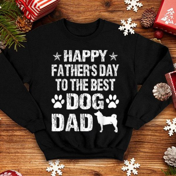 Happy Father's Day To The Best Shiba Inu Dad shirt