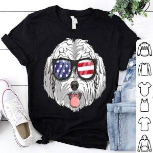 Maltipoo Dog Patriotic USA 4th Of July American Shirt
