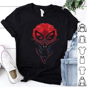 Marvel Spider-man And Venom Silhouette Face-off Shirt