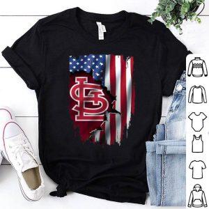 Mashup American Flag St.Louis Cardinals MLB shirt
