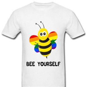 Rainbow Bee LGBT And Gay Pride Shirt