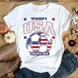 USA National Soccer Womens 2019 World Championship Shirt