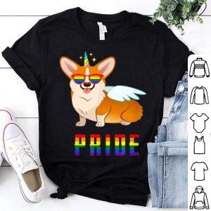 Unicorn Corgi Dog PRIDE- LGBT Gay Pride 2019 Shirt