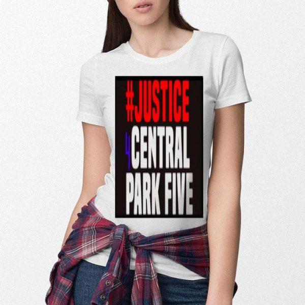 #justice 4 Central Park Five Shirt