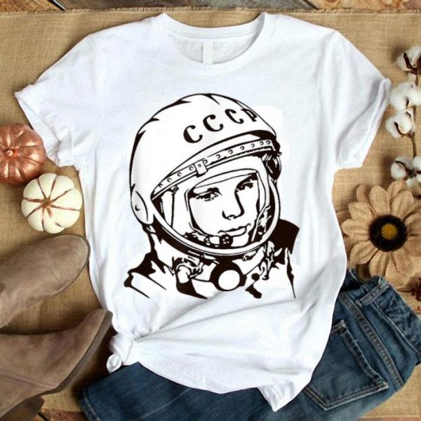 1961 - Yuri Gagarin - First Man in Space Lineart shirt