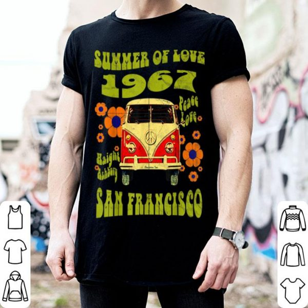 1967 Summer Of Love San Francisco Haight Ashbury Hippie shirt