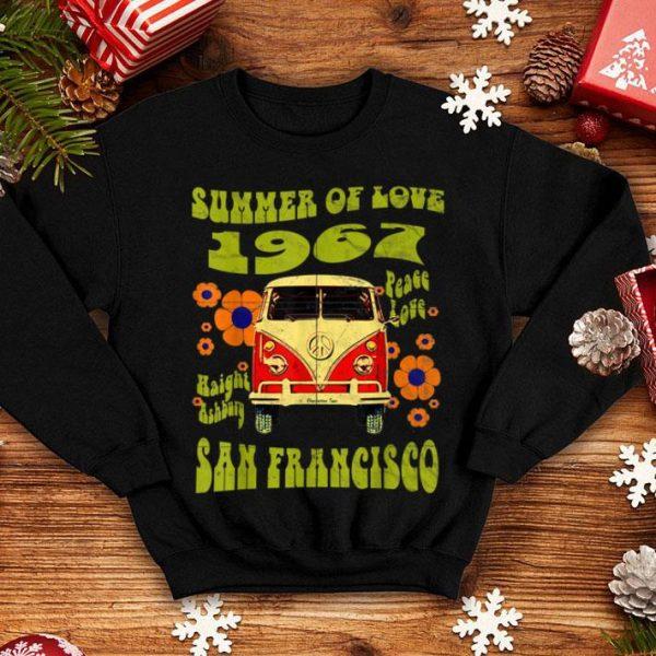 1967 Summer Of Love San Francisco Haight Ashbury Hippie shirt