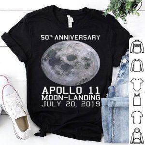 50th Anniversary Apollo 11 Moon Landing Space Mission USA Premium shirt
