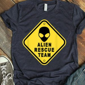 Alien Rescue Team Area shirt