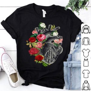 Anatomical Heart And Flowers Show Your Love Women Men shirt