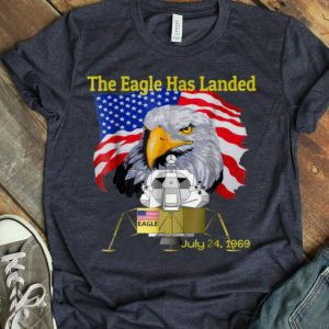 Apollo 11, The Eagle has landed. July 24th, 1969 shirt
