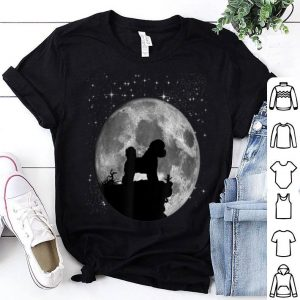 Bichon Frise Dog Moon Landing 50th Anniversary shirt