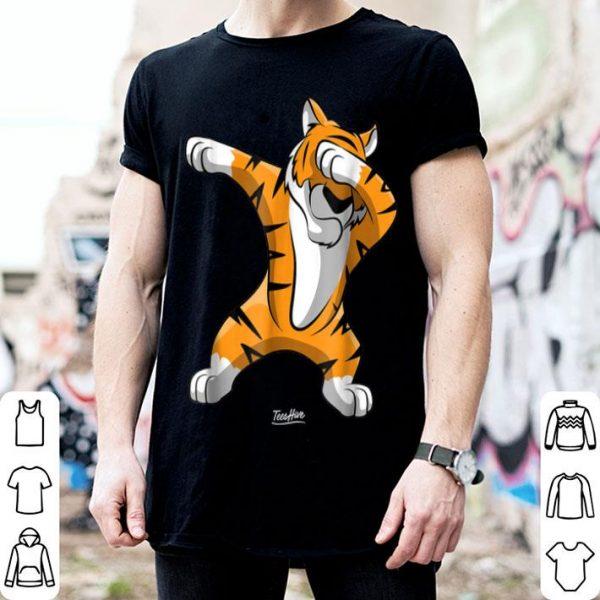 Dabbing Tiger Dab Tiger Safari Tiger Animal shirt