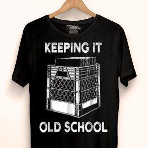 Keeping It Old School Record Vinyl Music Lovers shirt
