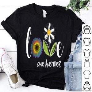 Love One Another Daisy Flower shirt