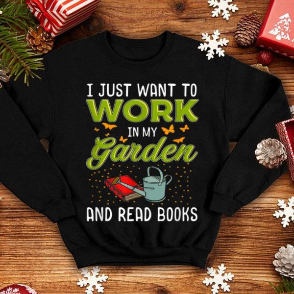 Mother's Day Gardening Garden And Book Lover shirt