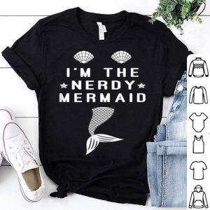 Nerdy Mermaid - Matching Mermaid Summer Beach Party shirt