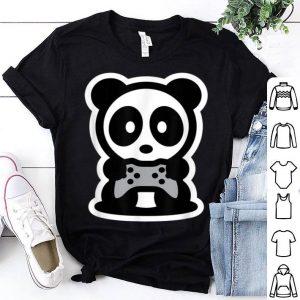 Panda Gamer Bambu Brand Video Games Bear Console System Cute shirt