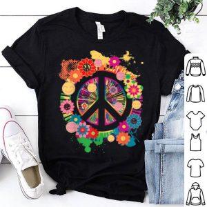 Peace Sign - Colorful Peace - 70's shirt