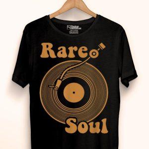 Rare Soul Music Lover Vintage Old School Dj Turntable shirt