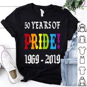 Retro 60S Style Gay Pride Riots 50Th NYC Gay Pride shirt