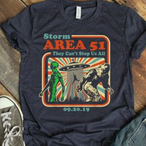Storm Area 51 UFO Alien Bigfoot Can't Stop Us All 09.20.19 shirt