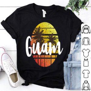 Vintage Guam Sunset Souvenir shirt