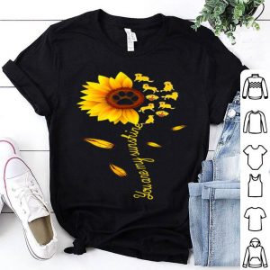 You Are My Sunshine Sunflower Dogs For Dog Lovers shirt